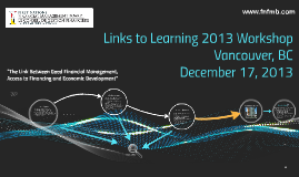 Links to Learning 2013
