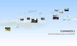 CLIMANDES 2:Información climática para el desarrollo