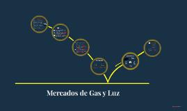 Mercado de gas natural y luz