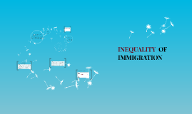 INEQUALITY  OF IMMIGRATION