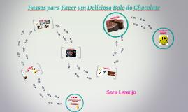 Passos Para fazer um Bolo da Chocolate