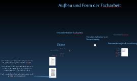 Kopie von Copy of Formblatt Facharbeit