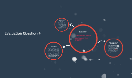 Question 4- Evaluation