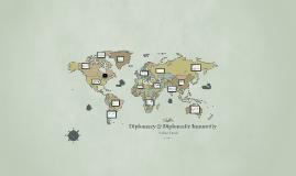 Diplomacy & Diplomatic Immunity