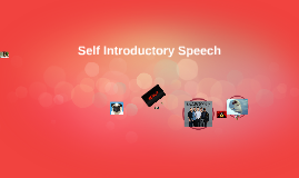 Self Introductory Speech
