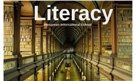Literacy at WIS