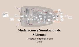 Modelacion y Simulacion de Sistemas