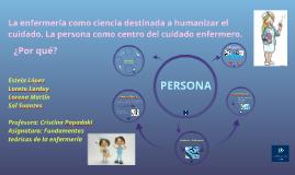 Copy of Copy of La enfermería como ciencia destinada a humanizar el cuidado.
