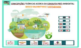 CONCEPÇÕES TEÓRICAS ACERCA DA CONDUTA PRÓ-AMBIENTAL: