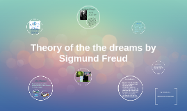 Theory of the the dreams by Sigmund Freud