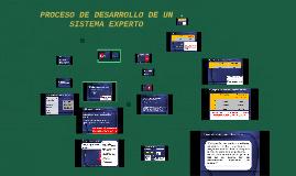 Copy of PROCESO DE DESARROLLO DE UN SISTEMA EXPERTO