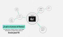 En qué va el proceso de Manotas