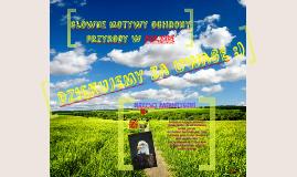 Copy of Copy of Główne motywy ochrony przyrody w Polsce
