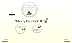 Matching Dogs with Clients