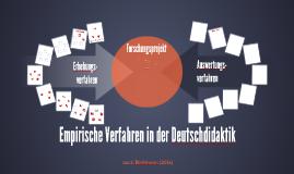 Empirische Verfahren in der Deutschdidaktik