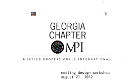 Meetings Inspire GaMPI Workshop