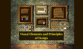 Visual Elements and Principles of Design
