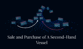 Sale and Purchase of A Second-Hand Vessel