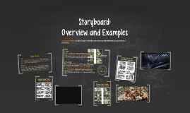 Storyboard: Overview and Examples