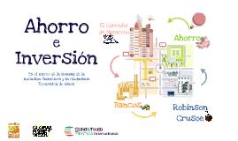 Copy of AHORRO E INVERSIÓN
