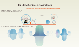 Copy of U4. Adaptaciones curriculares