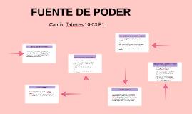 Copy of FUENTE DE PODER