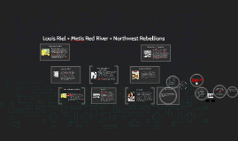 Copy of Louis Riel + Metis Red River + Northwest Rebellions