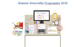 Summer Internship Programme 2016