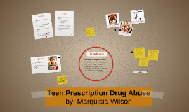 Teen Prescription Drug Abuse