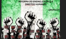 Reforma do Ensino Jurídico
