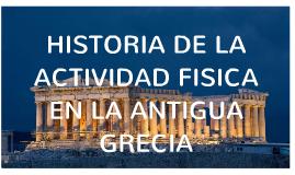 Historia de la A.F. Antigua Grecia
