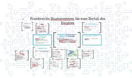 FRANKREICHS STAATENSYSTEM BIS ZUM ZERFALL DES EMPIRES