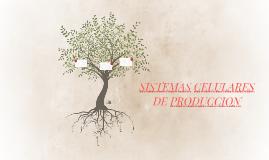 SISTEMAS CELULARES DE PRODUCCION