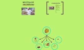 RECETAS DE ARGUIÑANO