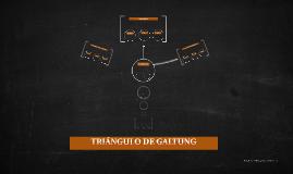 TRIÁNGULO DE GALTUNG