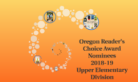 Oregon Reader's Choice Award Nominees 2018-19 Upper Elementary Division