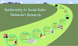 Conformity to Social Roles: Zimbardo's Research