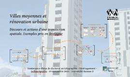 Copy of Copy of Copy of Copy of Villes moyennes et rénovation urbaine