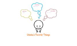 Chiaka's first Prezi