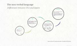 The non-verbal language