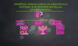 Enseñar: crear Zonas de Desarrollo Próximo e intervenir en e