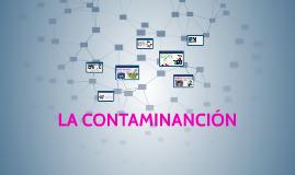 CONTAMINANCIÓN DEL MEDIO AMBIENTE