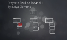 Copy of Proyecto Final de Espanol II