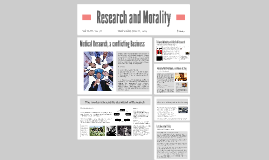 Copy of Medical Research and Morality
