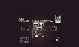 DBH 3.eko IKERKUNTZA