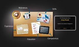 Curriculum vitae 2014 (English)