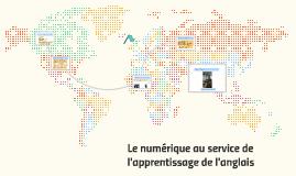 memoire l'apprentissage des langues vivantes et le numérique