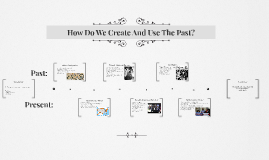How Do We Create And Use The Past?