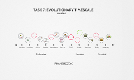 TASK 7: EVOLUTIONARY TIMESCALE