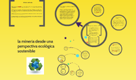 la minería desde una perspectiva ecológica sostenible